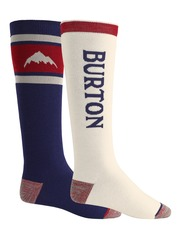 View the Burton Weekend Socks 2 Pack - Mood Indigo from the Mens Socks clothing range online today from Boarderline