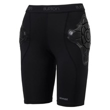 View the BURTON WM TOTAL IMPACT SHORT - TRUE BLACK from the Body Armour clothing range online today from Boarderline