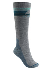 View the Burton Womens Emblem Sock - Grey Heather from the Womens Socks clothing range online today from Boarderline