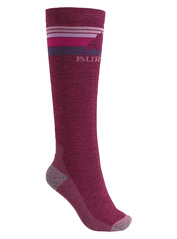 View the Burton Womens Emblem Sock - Sangria from the Womens Socks clothing range online today from Boarderline