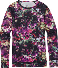 View the Burton Womens Lightweight Crew - Floral Pixel from the Base Layers clothing range online today from Boarderline