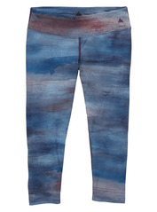 View the Burton Womens Midweight Capri Pant - Jaded Sedona from the Base Layers clothing range online today from Boarderline