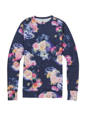 View the Burton Womens Midweight Crew - Prism Floral from the Base Layers clothing range online today from Boarderline