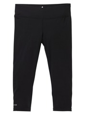 View the Burton Womens Midweight Capri Pant - True black from the Base Layers clothing range online today from Boarderline
