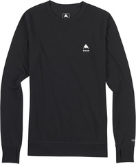 View the Burton Womens Midweight Crew - True Black from the Base Layers clothing range online today from Boarderline
