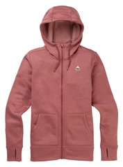 View the Burton Womens Oak Full Zip - Rose Brown from the Fleece/Layering clothing range online today from Boarderline