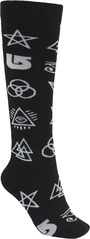 View the Burton Womens Party Sock - Illuminati from the Womens Socks clothing range online today from Boarderline