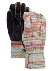 View the Burton Womens Profile Glove - Aqua Grey Revel Stripe from the Womens clothing range online today from Boarderline