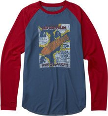 View the Burton X Led Zeppelin Roadie Tech Tee from the Base Layers clothing range online today from Boarderline