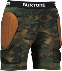 View the Burton Youths Total Imapct Short - Hickory Pop Camo from the Body Armour clothing range online today from Boarderline