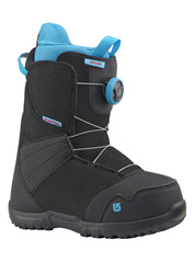 View the Burton Zipline Boa Kids Snowboard Boot - Black from the Kids Snowboard Boots clothing range online today from Boarderline