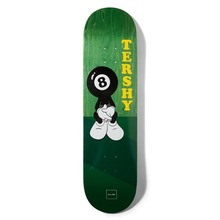 View the Chocolate Deck W36 One Offs Raven Tershy 8.25″ from the Decks clothing range online today from Boarderline