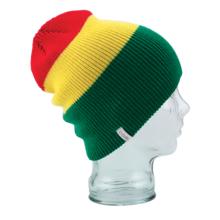 View the Coal Frena Beanie - Rasta from the Beanies clothing range online today from Boarderline