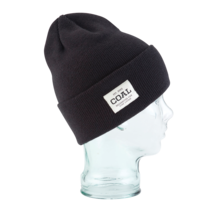 View the Coal Uniform Beanie - Black from the Beanies clothing range online today from Boarderline
