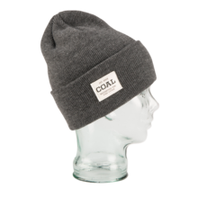 View the Coal Uniform Beanie - Charcoal from the Beanies clothing range online today from Boarderline