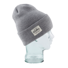 View the Coal Uniform Beanie - Heather Grey from the Beanies clothing range online today from Boarderline