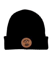 View the Colour Wear Badge Beanie - Black from the Beanies clothing range online today from Boarderline