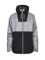 View the Colour Wear Block Jacket - Grey Melange from the Mens Snowboard Jackets clothing range online today from Boarderline