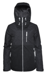 View the Colour Wear Cake Jacket - Black Leo from the Womens Snowboard Jackets clothing range online today from Boarderline