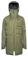 View the Colour Wear Cargo Parka - Loden from the Mens Snowboard Jackets clothing range online today from Boarderline