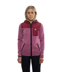 View the Colour Wear Firn Hood - Pink Melange from the Fleece/Layering clothing range online today from Boarderline