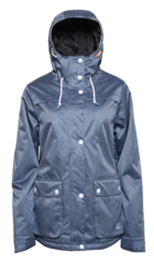 View the Colour Wear Ida Jacket - Denim Blue from the Womens Snowboard Jackets clothing range online today from Boarderline