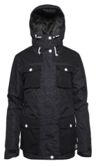 View the Colour Wear Mellow Jacket - Black Leo from the Womens Snowboard Jackets clothing range online today from Boarderline