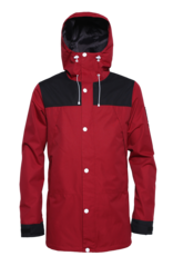 View the Colour Wear Rock Jacket - Burgundy from the Mens Snowboard Jackets clothing range online today from Boarderline