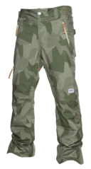 View the Colour Wear Sharp Pant - Asymmetric Loden from the Mens Snowboard Pants clothing range online today from Boarderline