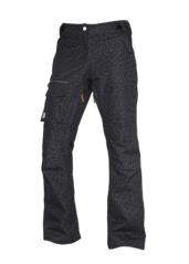 View the Colour Wear Slant Pant - Black Leo from the Womens Snowboard Pants clothing range online today from Boarderline