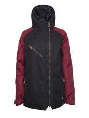 View the Colour Wear Slayer Jacket - Black from the Womens Snowboard Jackets clothing range online today from Boarderline