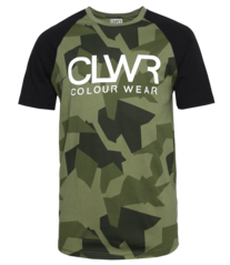 View the Colour Wear TTR T-Shirt - Asymmetric Loden from the Base Layers clothing range online today from Boarderline