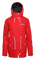 View the Colour Wear UP Parka - Red from the Womens Snowboard Jackets clothing range online today from Boarderline