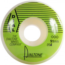View the DIAL TONE GROOVE WHEELS 99A - 51MM from the Wheels clothing range online today from Boarderline