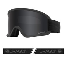View the Dragon DX3 OTG Goggles - Blackout with Lumalens Dark Smoke & Lumalens Amber Lens from the Mens clothing range online today from Boarderline