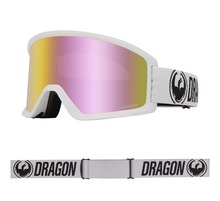 View the Dragon DX3 OTG - White with Lumalens Pink Ionized + Lumalens Amber Lens from the Mens clothing range online today from Boarderline