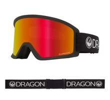 View the Dragon DX3 OTG - Black with Lumalens Red Ionized + Lumalens Amber Lens from the Mens clothing range online today from Boarderline