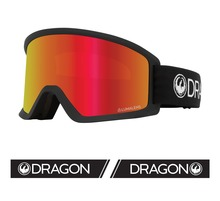 View the Dragon DX3 OTG - Black with Lumalens Red Ionized & Lumalens Amber Lens from the Mens clothing range online today from Boarderline