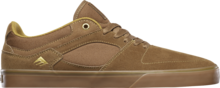 View the Emerica Hsu Low Vulc - Brown/Gum from the Mens clothing range online today from Boarderline