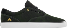 View the Emerica Provost Slim Vulc - Green/Black/White from the Mens clothing range online today from Boarderline