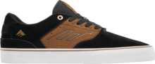 View the Emerica Reynolds Low Vulc - Black/Tan from the Mens clothing range online today from Boarderline