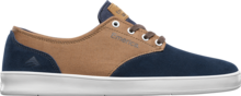 View the Emerica Romero Laced - Navy/Brown/White from the Mens clothing range online today from Boarderline