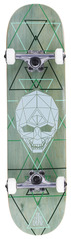 View the ENUFF GEO SKULL COMPLETE SKATEBOARD - 8.0 from the Complete Skateboards clothing range online today from Boarderline