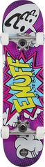 View the Enuff Mini Pow Complete Skateboard 7.25 - Purple from the Complete Skateboards clothing range online today from Boarderline