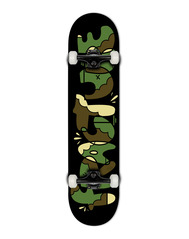 View the FRACTURE X YEH COOL CAMO COMPLETE SKATEBOARD - 7.375 from the Complete Skateboards clothing range online today from Boarderline