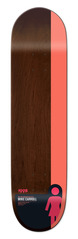 "View the Girl Carroll Tail Block Deck - 8.375"" from the Decks clothing range online today from Boarderline"