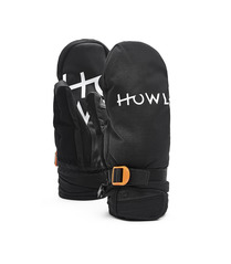 View the Howl Fairbanks Mitt - Black from the Mens clothing range online today from Boarderline