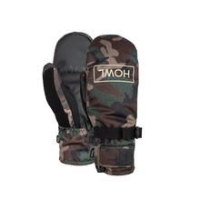 View the Howl Fairbanks Mitt - Camo from the Mens clothing range online today from Boarderline