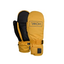 View the Howl Fairbanks Mitt - Yellow from the Mens clothing range online today from Boarderline