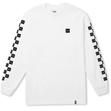 View the Huf Bunny Hop Long Sleeve - White from the T-Shirts clothing range online today from Boarderline